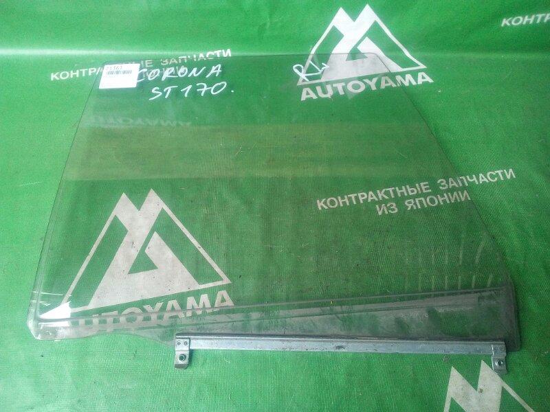 Стекло Toyota Corona AT170 заднее левое (б/у)