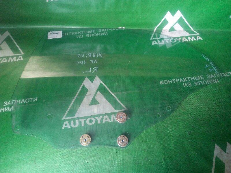 Стекло Toyota Sprinter Marino AE100 заднее левое (б/у)