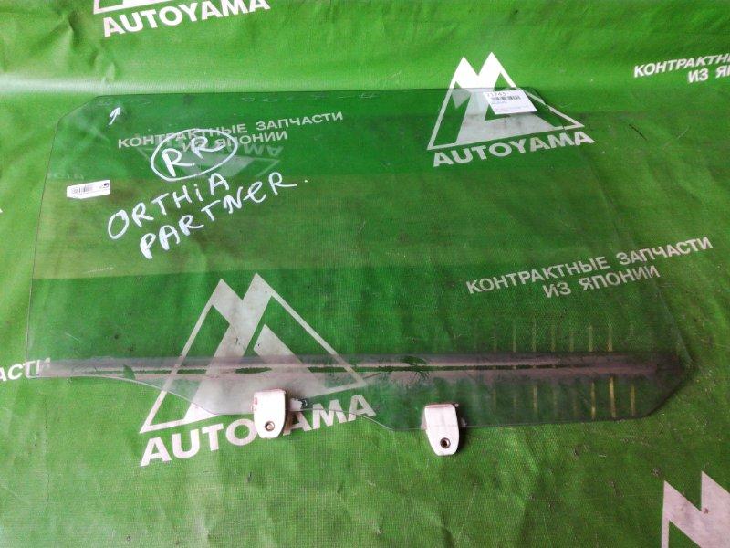 Стекло Honda Orthia EL2 заднее правое (б/у)