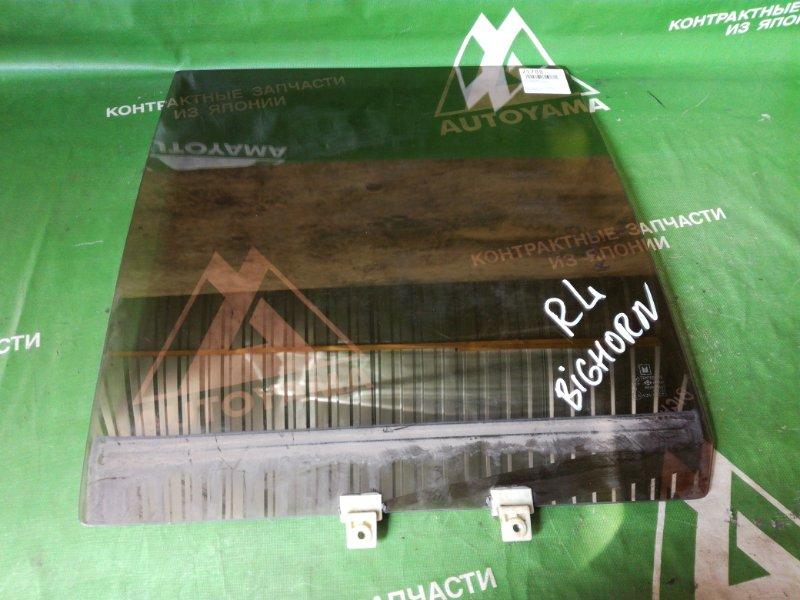 Стекло Isuzu Bighorn UBS69GW заднее левое (б/у)