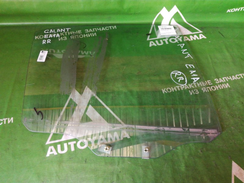 Стекло Mitsubishi Galant EA1A заднее правое (б/у)