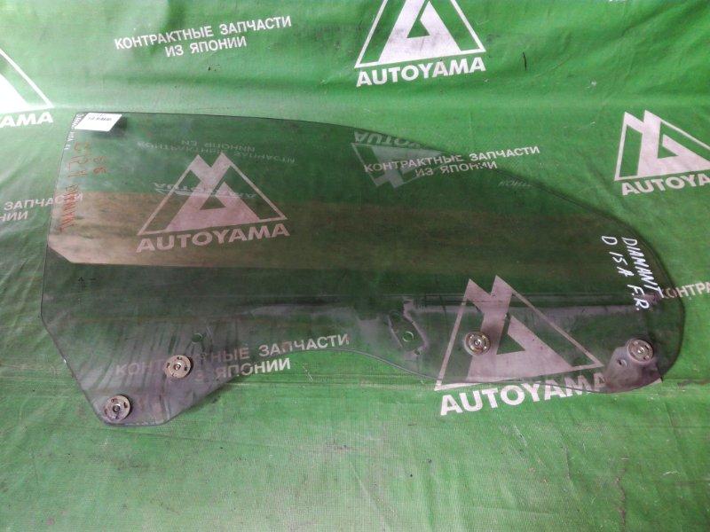 Стекло Mitsubishi Diamante F15A переднее правое (б/у)