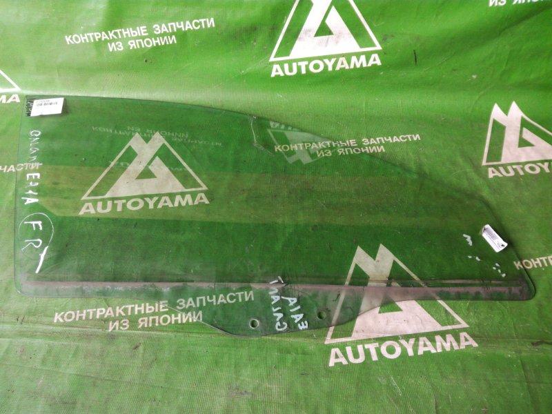 Стекло Mitsubishi Galant EA1A переднее правое (б/у)