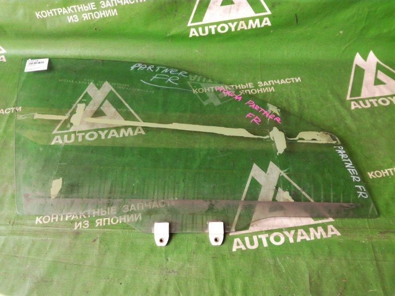 Стекло Honda Partner EY7 переднее правое (б/у)