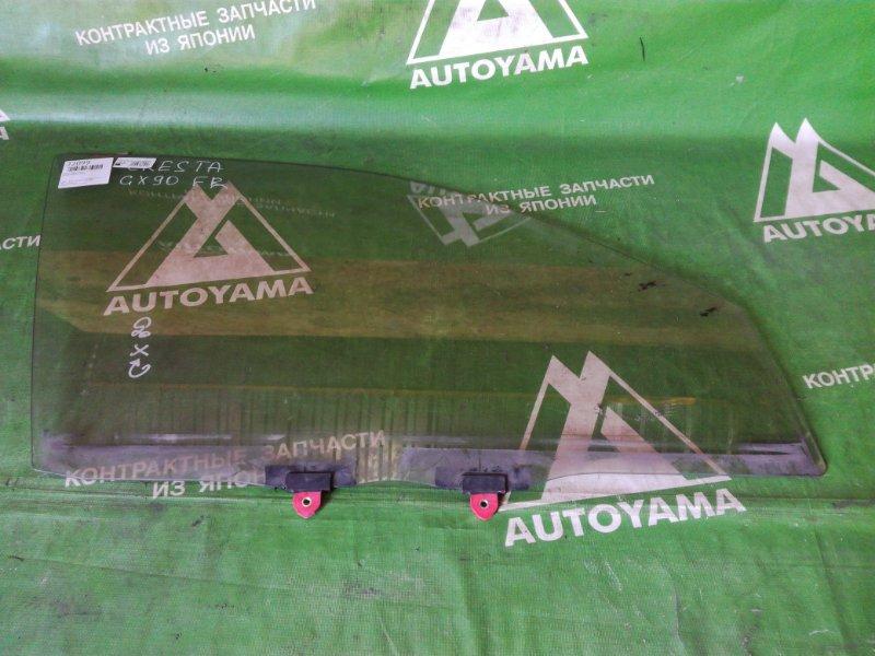 Стекло Toyota Cresta GX90 переднее правое (б/у)