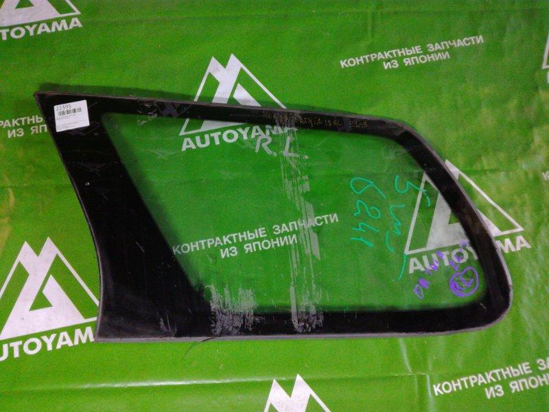 Стекло собачника Honda Orthia EL2 заднее правое (б/у)