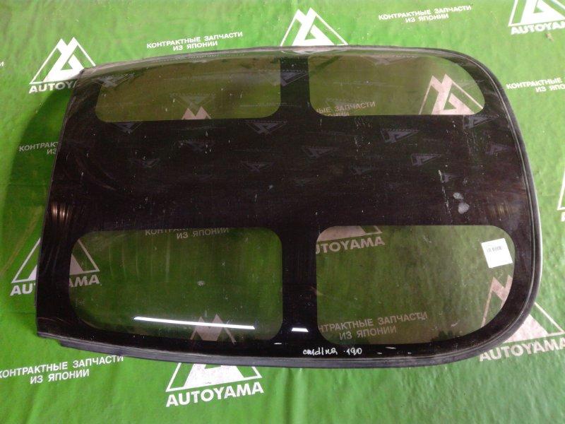 Стекло крыши Toyota Caldina ST190 (б/у)