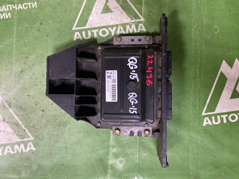 Блок управления двс Nissan Sunny FB15 QG15DE (б/у)