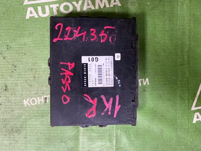 Блок управления двс Toyota Passo KGC10 1KRFE (б/у)