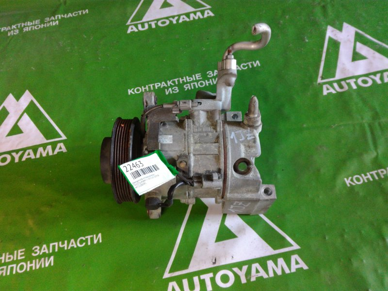 Компрессор кондиционера Toyota Mark Ii JZX110 1JZFSE (б/у)