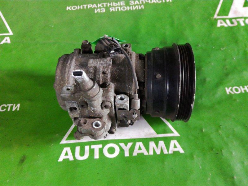 Компрессор кондиционера Toyota Caldina ST195 3SGE (б/у)