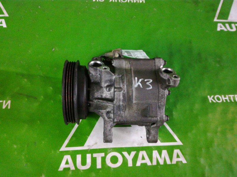 Компрессор кондиционера Toyota Duet M101A K3VE (б/у)