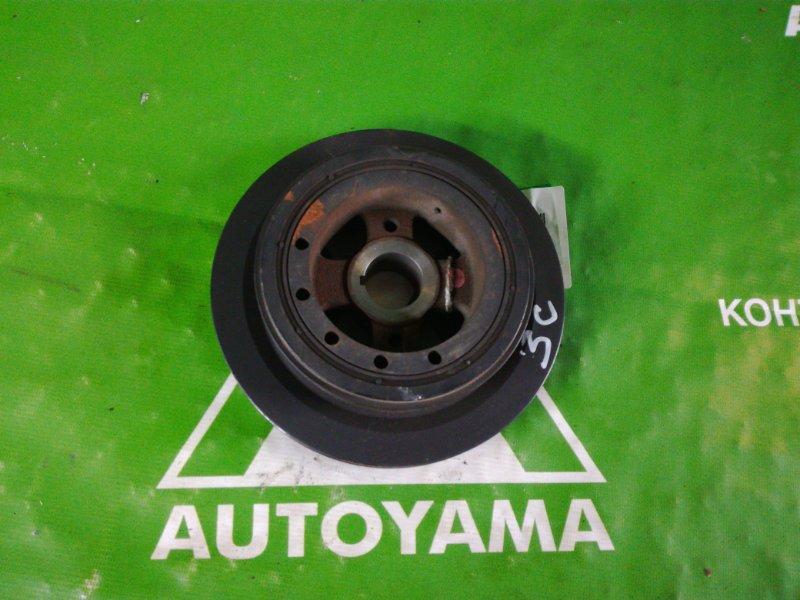 Шкив коленвала Toyota Caldina CT190 3C (б/у)