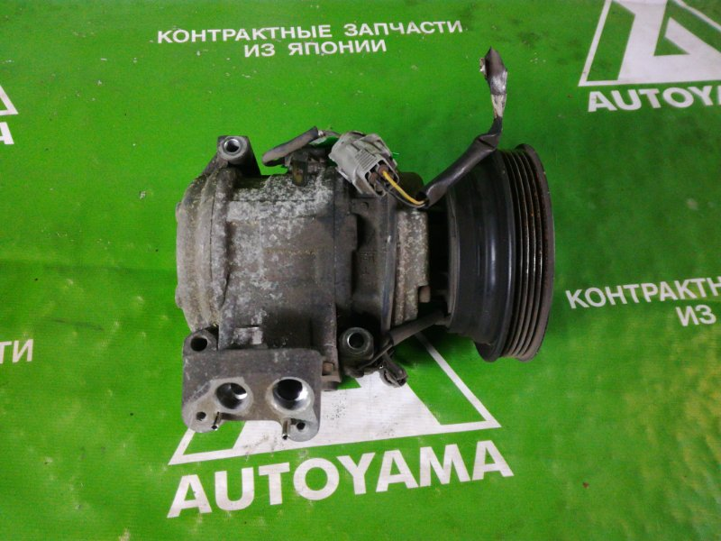 Компрессор кондиционера Toyota Caldina CT190 3C (б/у)
