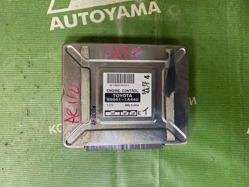 Блок управления двс Toyota Sprinter AE110 5AFE (б/у)