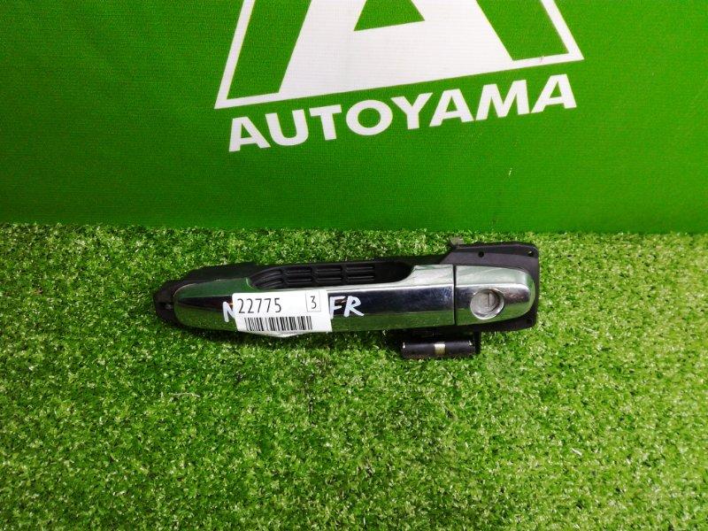 Ручка двери внешняя Toyota Allex NZE121 1NZFE 2001 передняя правая (б/у)