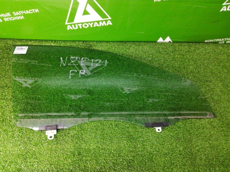 Стекло Toyota Allex NZE121 1NZFE 2001 переднее правое (б/у)