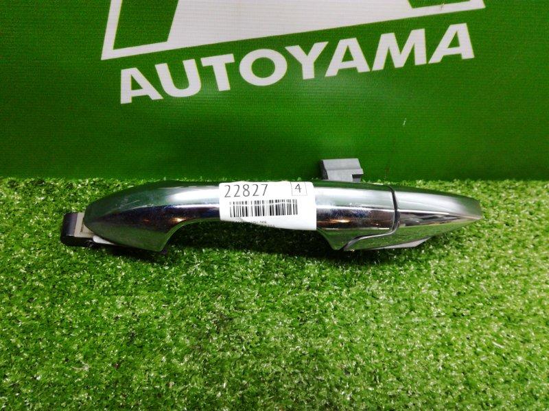 Ручка двери внешняя Honda Accord CL7 K20A задняя левая (б/у)