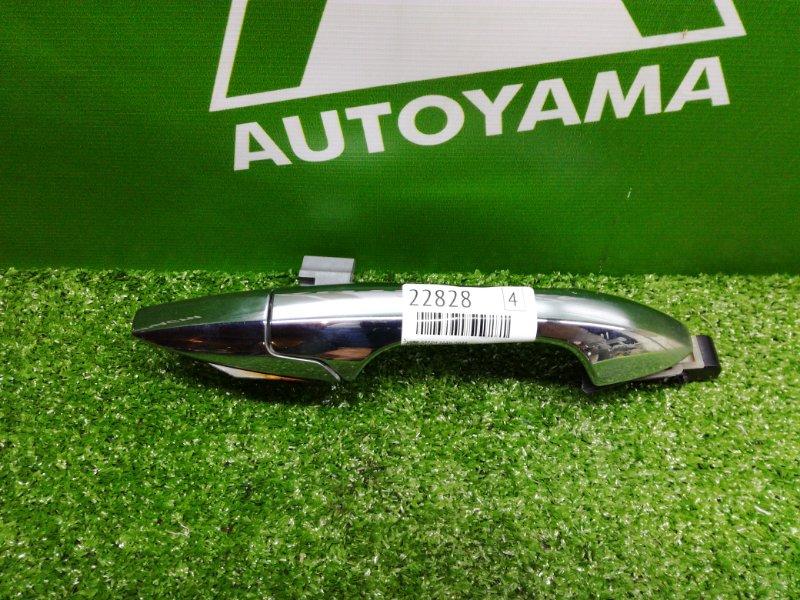 Ручка двери внешняя Honda Accord CL7 K20A задняя правая (б/у)