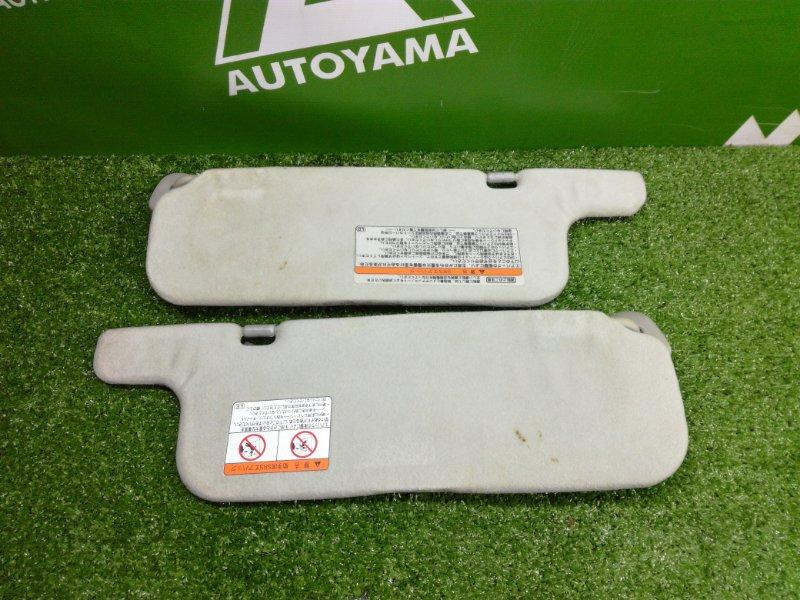 Козырек солнцезащитный Toyota Allex NZE121 1NZFE 2001 (б/у)