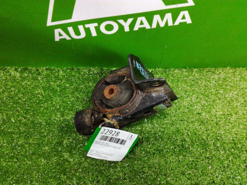 Подушка двигателя Toyota Allex NZE121 1NZFE 2001 левая (б/у)