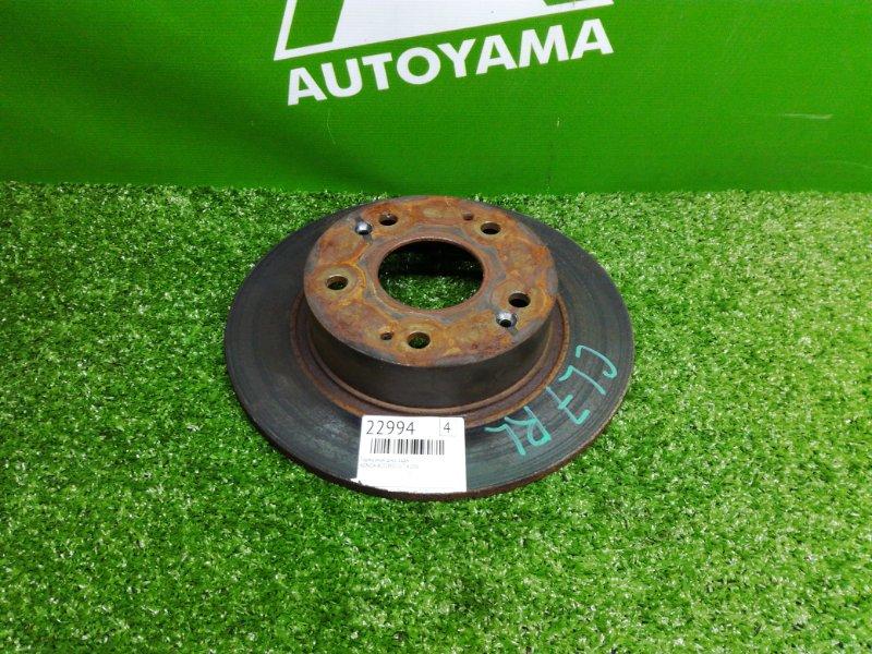 Тормозной диск Honda Accord CL7 K20A задний (б/у)