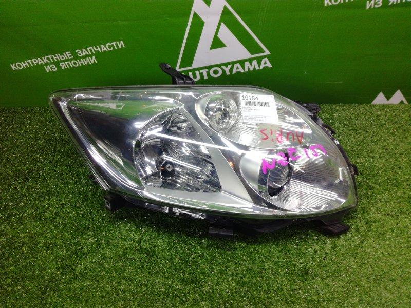 Фара Toyota Auris NZE151 передняя правая (б/у)