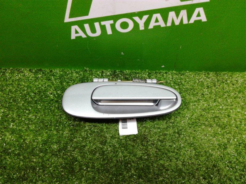 Ручка двери внешняя Toyota Corolla AE100 4AFE задняя правая (б/у)