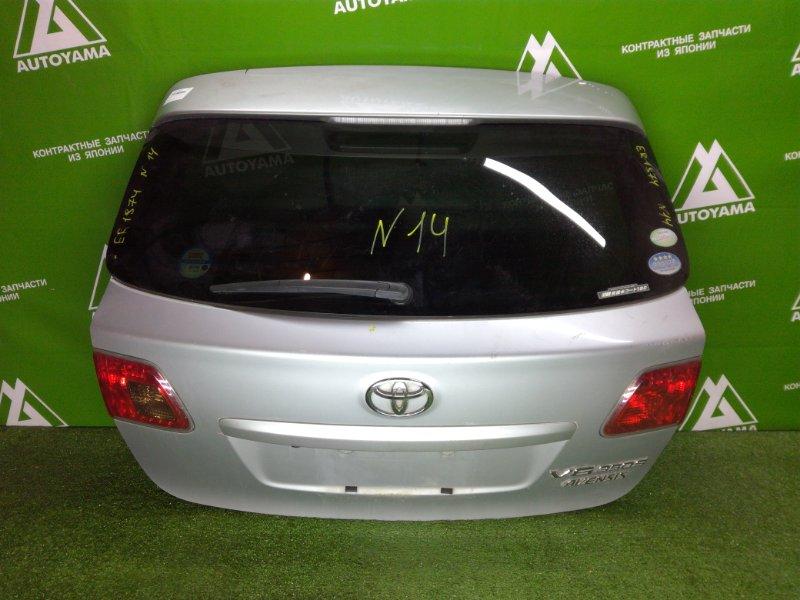 Дверь 5-я Toyota Avensis ZRT272 3ZRFAE 2011 (б/у)