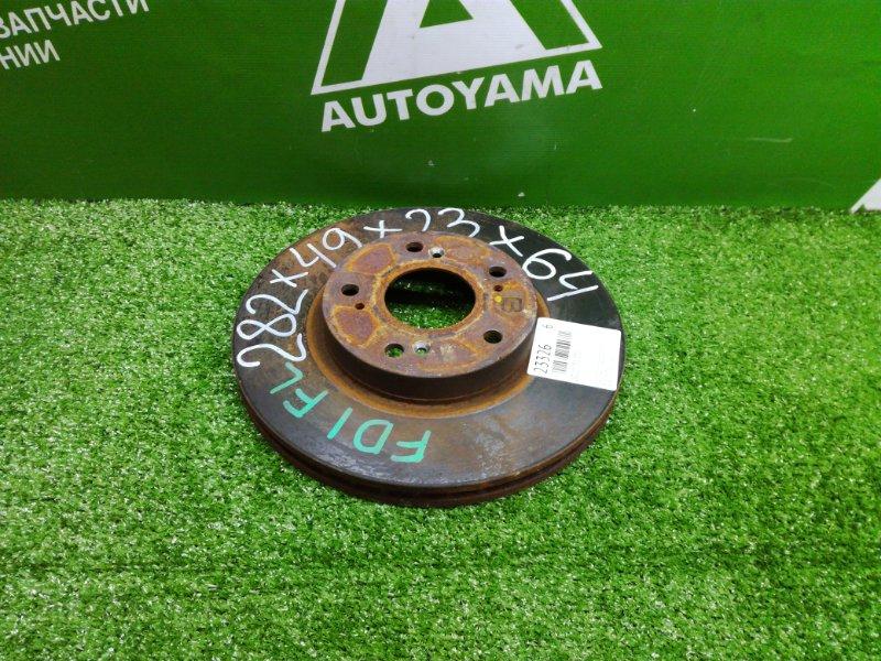 Тормозной диск Honda Civic FD1 R18A передний (б/у)