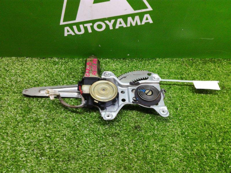 Стеклоподъемник Toyota Sprinter Carib AE115 7AFE задний правый (б/у)