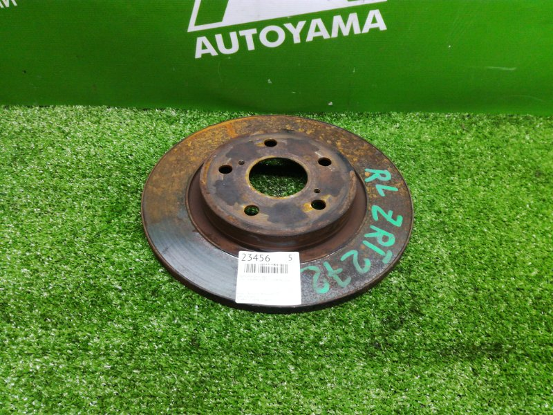 Тормозной диск Toyota Avensis ZRT272 3ZRFAE 2011 задний (б/у)