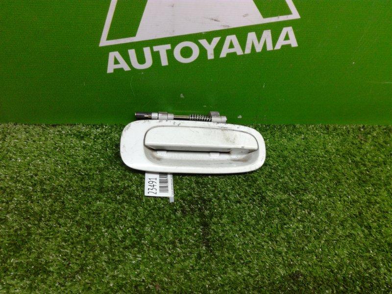 Ручка двери внешняя Toyota Carina AT210 5AFE задняя правая (б/у)