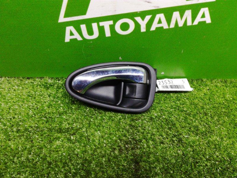Ручка двери внутренняя Toyota Avensis ZRT272 3ZRFAE 2011 задняя левая (б/у)