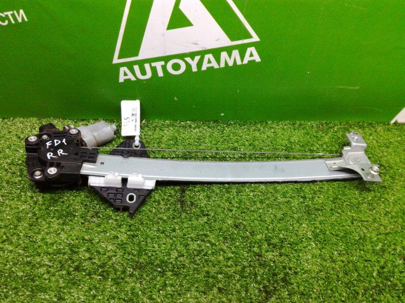 Стеклоподъемник Honda Civic FD1 R18A задний правый (б/у)
