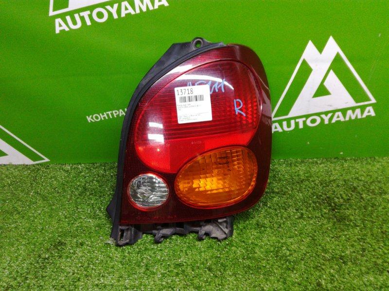 Фонарь Toyota Corolla Spacio AE111 задний правый (б/у)