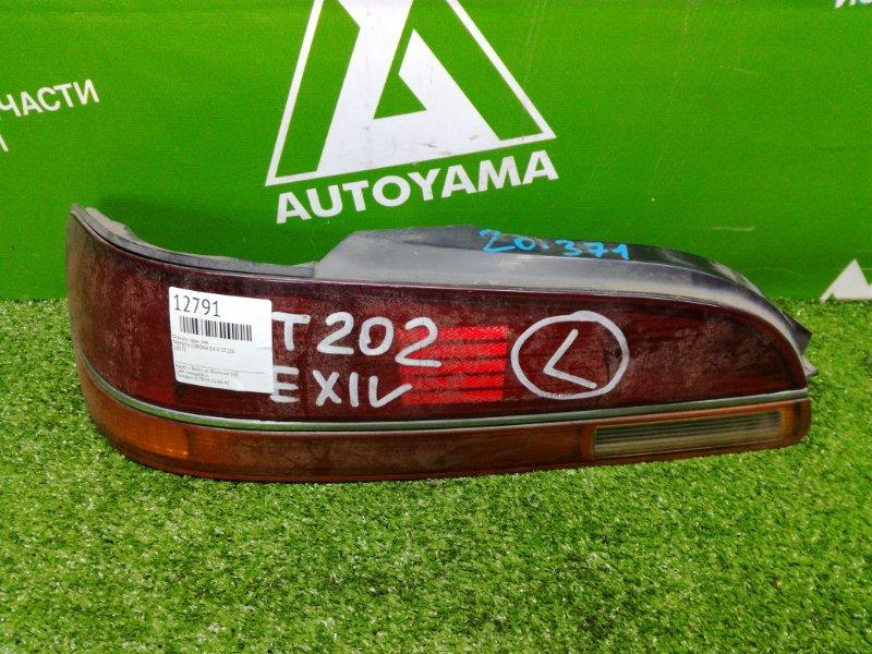 Фонарь Toyota Corona Exiv ST200 задний левый (б/у)