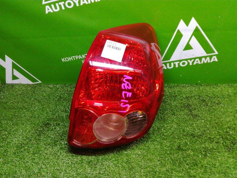 Фонарь Toyota Auris NZE151 задний правый (б/у)