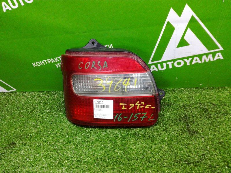 Фонарь Toyota Corsa EL51 задний левый (б/у)