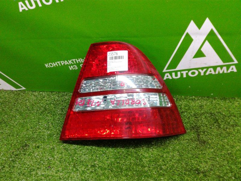 Фонарь Toyota Corolla NZE120 1NZFE задний правый (б/у)