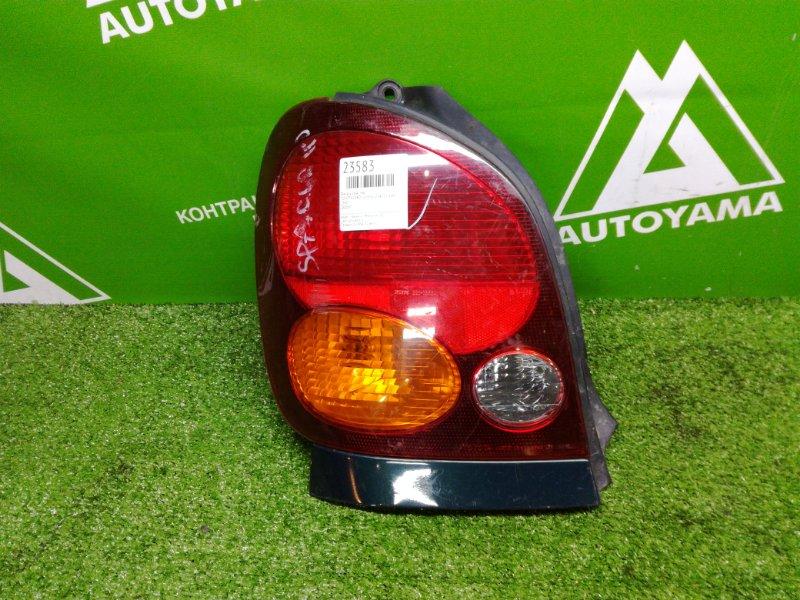 Фонарь Toyota Corolla Spacio AE111 4AFE задний левый (б/у)