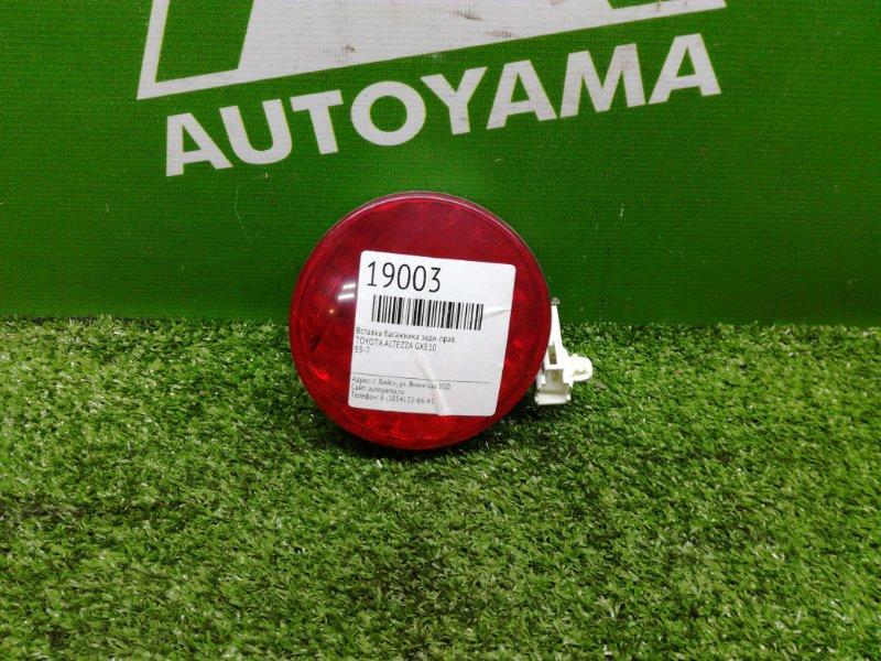 Вставка багажника Toyota Altezza GXE10 задняя правая (б/у)