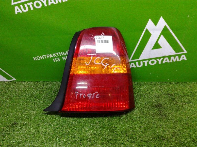 Фонарь Toyota Progres JCG11 задний правый (б/у)