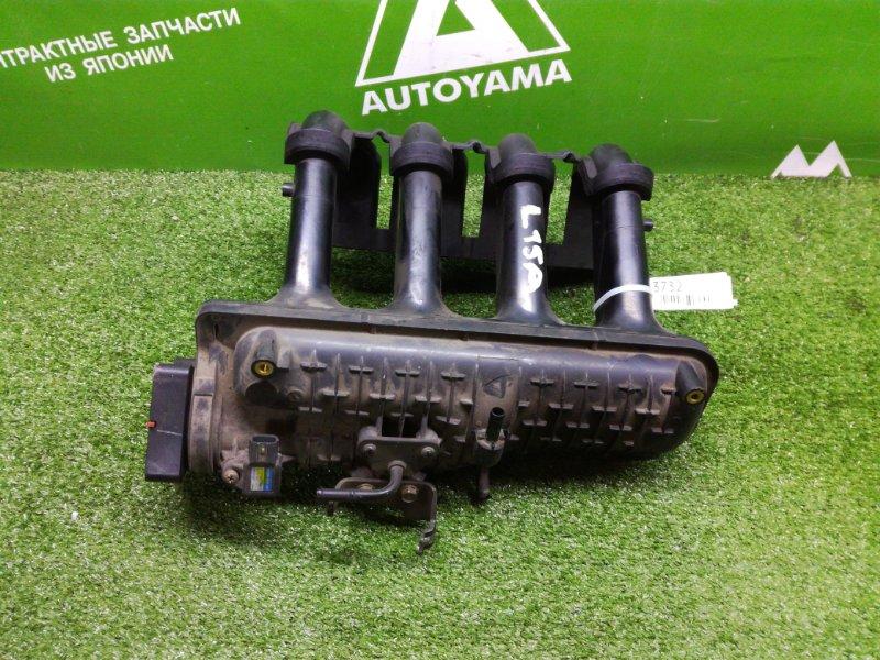 Коллектор впускной Honda Fit GD1 L15A (б/у)