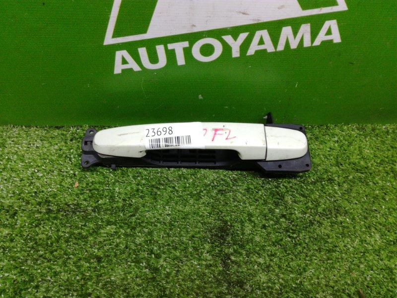 Ручка двери Toyota Passo KGC10 1KRFE передняя левая (б/у)
