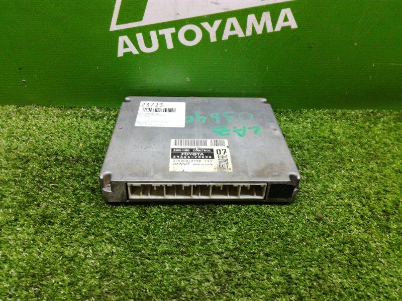 Блок управления двс Toyota Estima ACR30 2AZFE (б/у)
