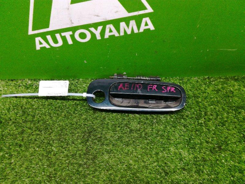 Ручка двери внешняя Toyota Sprinter AE110 5AFE передняя правая (б/у)