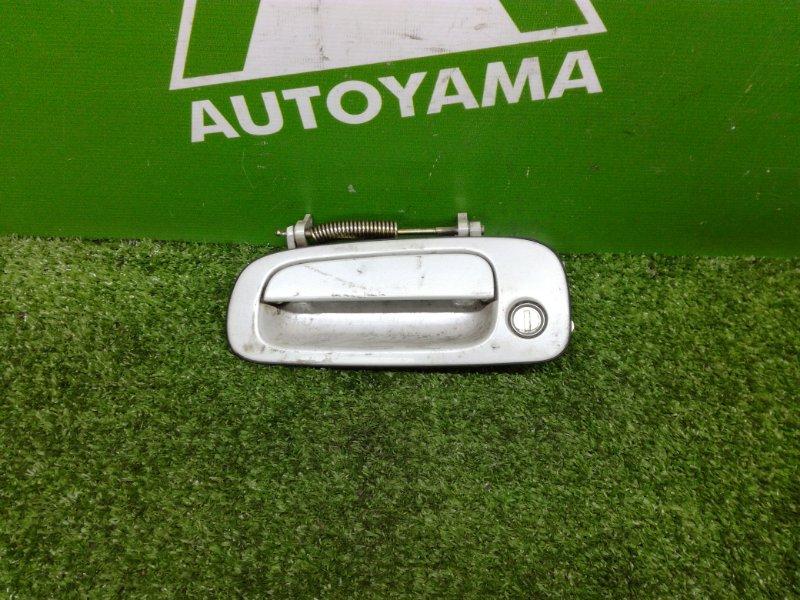 Ручка двери внешняя Toyota Chaser GX90 1GFE передняя левая (б/у)