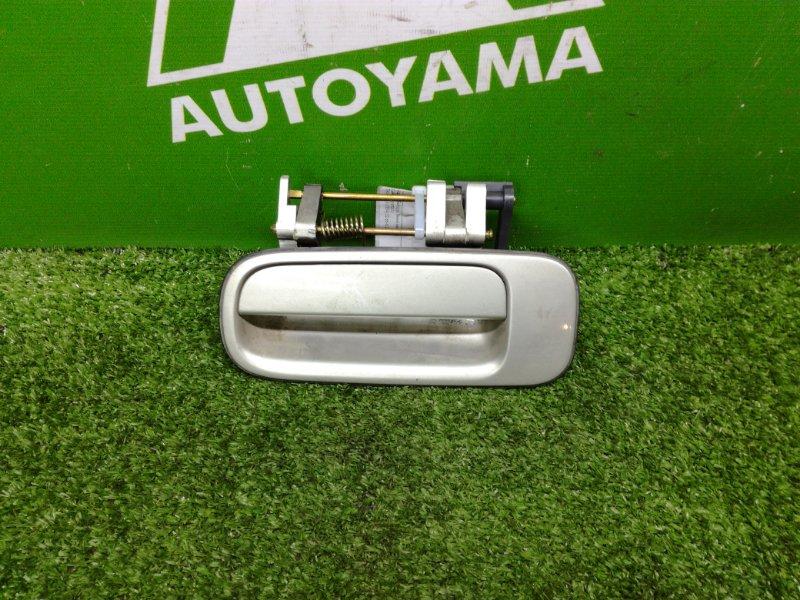Ручка двери внешняя Toyota Vista SV40 3SFE задняя левая (б/у)