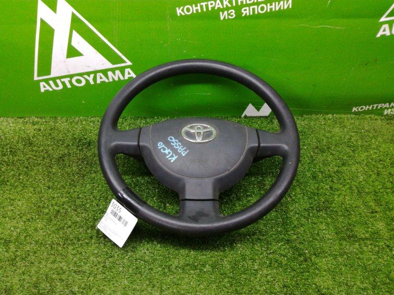 Руль Toyota Passo KGC10 (б/у)